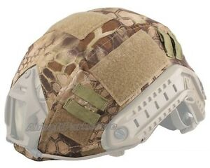 Emerson Hunting Military Tactical Helmet Cover for Ops-Core Fast Helmet HLD Camo
