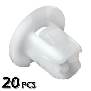 20pcs Nylon Headliner Nut Clip Screw Grommet For 2002 2007 Mitsubishi Lancer 06
