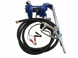 12 Volt Electric Power Fuel Transferring Pump Transfer Barrel Mount 12v