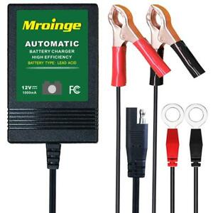 Mbc010 Automotive Trickle Maintainer 12v 1a Smart Automatic Charger For Car