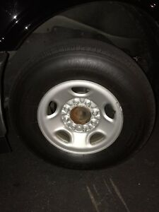 2017 Gm Full Size Van Express savana wheels And Tires Packages Set Of Four