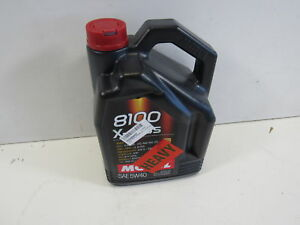 Motul 007250 8100 X cess 5w 40 Synthetic Gasoline And Diesel Engine Oil 5l
