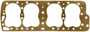 Fel pro Copper Thick 3 420 In Bore Ford Flat Head Cylinder Head Gasket P n 1055
