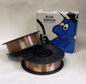 Er70s 6 030 X 11 Lb 2 Pk Mig Steel Welding Wire Spools Blue Demon