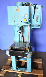 4 Ton Used Denison Multi press Hydraulic C Frame Press Wr045lc204fs0366ce2046610