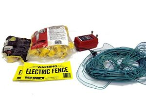 Red Snap r snaper 1 Mile Range 33b Electric Fence Controller More