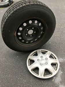 Bfgoodrich Winter Slalom Ksi 225 70r16 Tire With Rims And Hubcaps