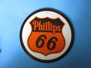 Tin Metal Gasoline Service Station Man Cave Advertising Decor Gas Oil Phillip 66