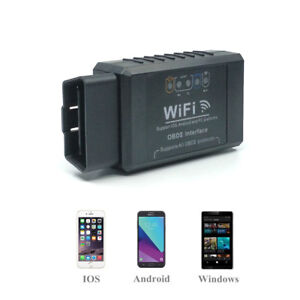 For Iphone Android Elm327 Obd2 Diagnostic Scanner Car Engine Fault Code Reader