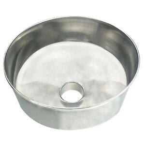 Hfs r Stainless Steel Funnel With 3in Output