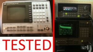 Hp 3561a Dynamic Signal Analyzer 125 hz To 100khz Spectrum Oscilloscope tested