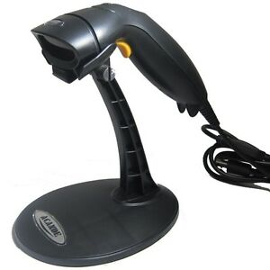 Usb Automatic Auto Laser Barcode Bar Code Scanner Reader Stand Handheld Handfree