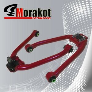 For 350z 03 07 G35 02 06 Replacement Front Left Right Adjustable Camber Kit Red