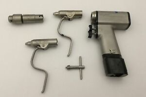 Stryker 4100 Cordless Orthopedic Driver With Accessories