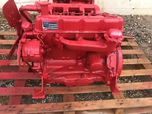 Ford 256 Diesel Engine Good Runner have Video Of It Running Ford new Holland