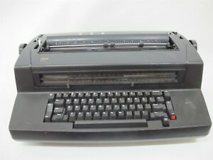 Ibm Selectric Iii Electric Typewriter Black Parts Or Repair