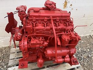 Perkins 4 236 Diesel Engine Good Runner Video Of It Running