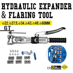 Universal Hydraulic Expander And Flaring Tool 5 22 Mm 3 16 7 8 Plumber 6t