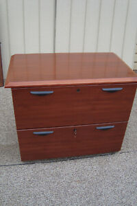 59727 Cherry Office File Cabinet