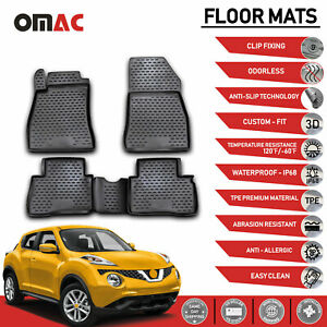 Floor Mats Liner 3d Molded Black For Nissan Juke 2011 2017