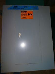 Square D Nqod424m100cu 100 Amp Panel Cover With Dead Front