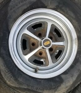 1966 1967 Oldsmobile Cutlass Supreme 442 F85 14x7 Rally Ss1 Ss 1 Wheel