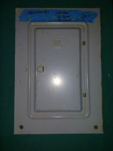 Square D 100 Amp 16 Space 32 Circuit Panel Cover