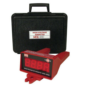 Hd Electric Hva 2000 High Voltage Digital Ammeter