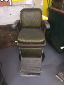 Koken Antique Barber Chair 60 S Or 70 S