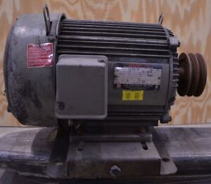 Us Electric 3hp Unimount 230 460v 3 phase 1160rpm Electric Ac Motor W Pulley