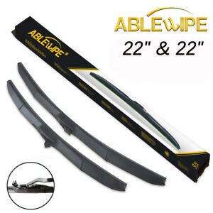 Ablewipe 22 22 For Chevrolet Chevy Tahoe Windshield Wiper Blades Set Of 2