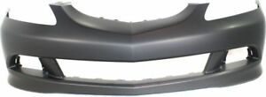 Front Bumper Cover For 2005 2006 Acura Rsx W Fog Lamp Holes Primed
