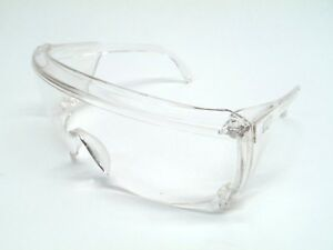 Lot Of 12 Encon Veratti 1910cs Safety Glasses Clear Lens Clear Frame