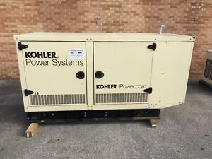Kohler 25 Kw Propane Natural Gas Generator Gm Engine 0 4 Hours