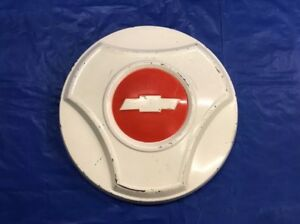 Vintage 1964 66 Chevrolet Truck Dog Dish Hubcap Very Good Condition
