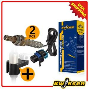 2xupstream Oxygen O2 Sensor socket Wrench Tool For 07 11 Gmc Sierra 1500 V6 4 3l