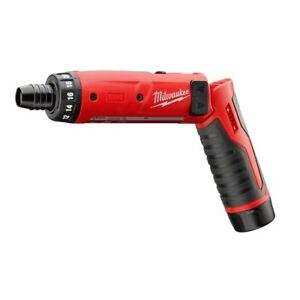 Milwaukee 2101 21 M4 1 4 Hex Screwdriver Kit 1 Battery