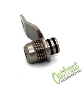 Outfront Motorsports Subaru 10an Turbo Oil Return Fitting For Back Of Head