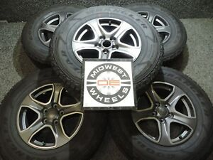 2019 Jeep Wrangler 17 Gray Factory Oe Wheels Tires X5 Gdy At P245 75r17 Jk Jl