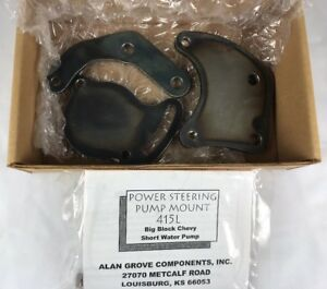 Alan Grove 415l Type 2 Low Profile Power Steering Pump Bracket Bb Chevy Bbc Swp