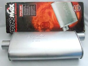 Dynomax Super Turbo Muffler 17748 Aluminized Steel Construction