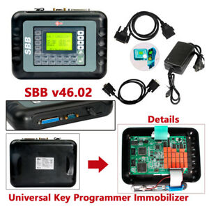 Universal Car Truck Rv Sbb V46 02 Key Programmer Immobilizer Diagnostic Tool