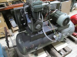 Cooper Industries Compressor Askaac 7 5hp 80 W c Tank Used