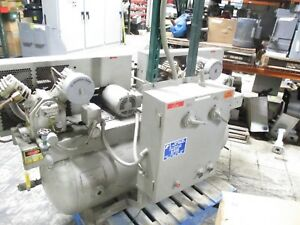 Ingersoll rand 2 stage Compressor 2 234d4 3hp Total W Tank Used
