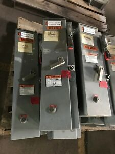 Eaton Cutler Hammer Size 2 Combination Motor Starters