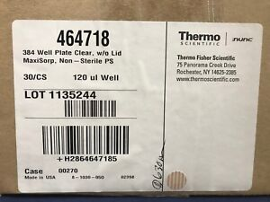 Thermo Scientific 464718 384 Well Plate 120 l 30 Plates