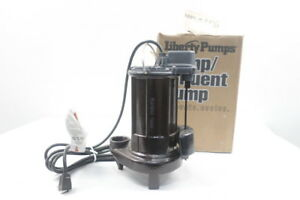 Liberty Pumps 237 Submersible Pump Iron 1 1 2in 1 2hp 115v ac