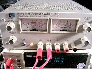 Hp 6236b Dc Triple Output Power Supply Tested