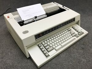 Ibm Wheelwriter 10 Series Ii Electric Typewriter Type 6783