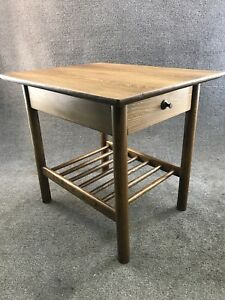 Mid Century Danish Modern Lawrence Peabody For Nemschoff Side End Table
